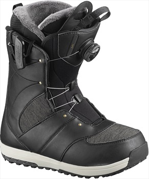 Salomon Ivy BOA SJ Women's Snowboard Boots, UK 4 Black 2019