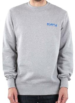 Kavu Klear Crewneck Sweatshirt, S Grey