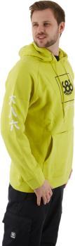686 One World Snowboard/Ski Pullover Hoodie, L Hi-Vis Yellow