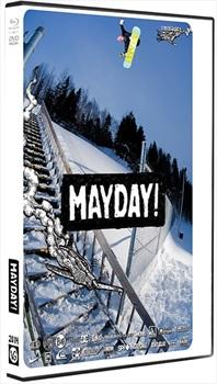 Videograss Mayday Snowboard DVD, Mayday, Black/White