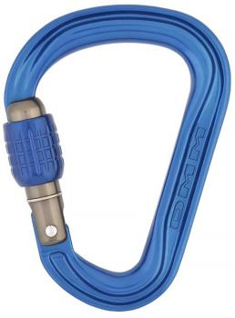DMM Phantom HMS Screwgate Rock Climbing Carabiner, Blue