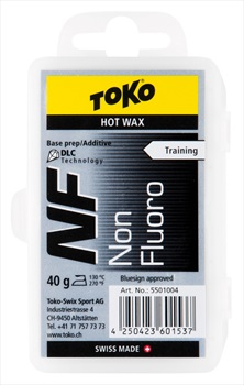 Toko NF Black Ski/Snowboard Base Hot Wax, 40g Black