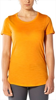 Icebreaker Sphere Short Sleeve Low Crew, L Sun Heather