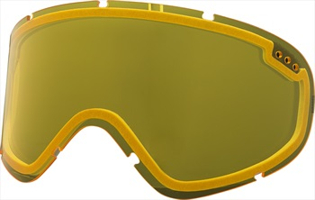 Electric Charger XL Snowboard/Ski Goggle Spare Lens, Yellow