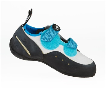 EB Neo Kids Rock Climbing Shoe: UK 10   EU 28 Kids, Blue & White