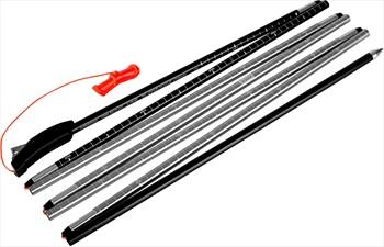 Mammut Probe 280 Fast Lock Avalanche Safety Probe 280cm Neon Orange