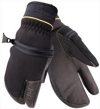 10 Peaks Mount Neptuak Ski/Snowboard Trigger Gloves, M Black