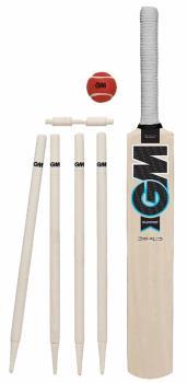 GM Diamond Garden Cricket Set, Bat Size 5 Natural