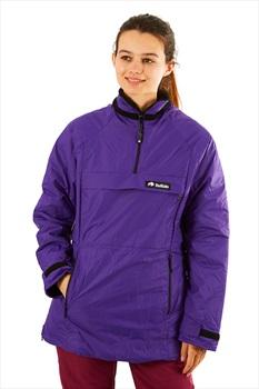 Buffalo Ladies Mountain Shirt Technical All Weather Jacket, M Purple