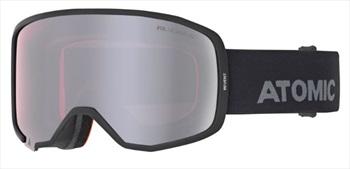 Atomic Adult Unisex Revent Stereo Otg Black, Grey Snowboard/Ski Goggles, M/L