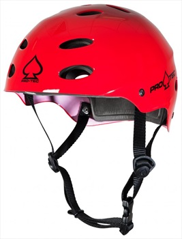 Pro-tec ACE Water Watersports Helmet, XL Gloss Red