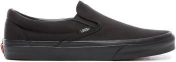 Vans Classic Slip-On Skate Shoes, UK 7 Black/Black