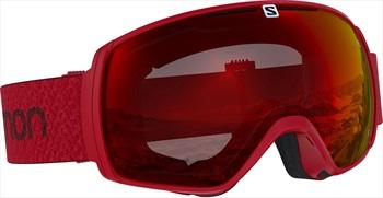 Salomon XT One Mid Red Snowboard/Ski Goggles, M/L Matador