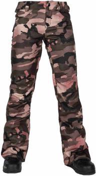 Volcom Species Stretch Womens Snowboard/Ski Pants L Faded Army