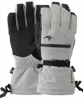 POW Crescent Gore-Tex Long Women's Ski/Snowboard Gloves, XS Ash