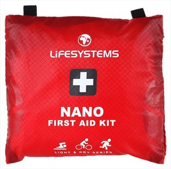 Lifesystems Light & Dry Nano Pocket First Aid Kit, 16 items Red