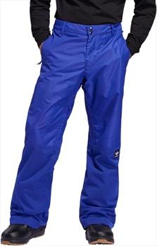 Adidas Riding Ski/Snowboard Pants, XL Active Blue / Collegiate Gold