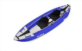 Z PRO Tango 200 Recreational Inflatable Kayak, 2 Person Blue 2020