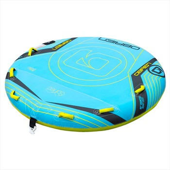 O'Brien Lowrider ST Towable Inflatable Deck Tube, 3 Rider Blue 2020