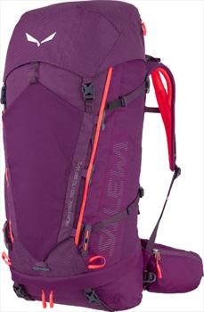 Salewa AlpTrek 50 WS Trekking Rucksack, 50+10L Dark Purple