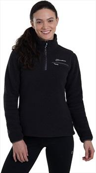 Berghaus Darria Women's Hiking/Climbing Fleece, L / UK 14 Black