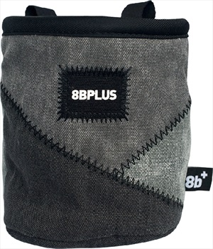 8b+ Probag Rock Climbing Chalk Bag, Black/Grey