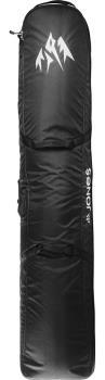 Jones Adventure Roller Wheelie Snowboard Bag, 170cm Black/White