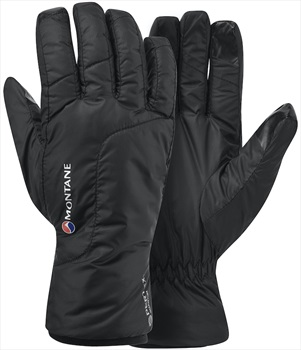 Montane Womens Prism Fleece Lined Women's Windproof Glove, XS Black