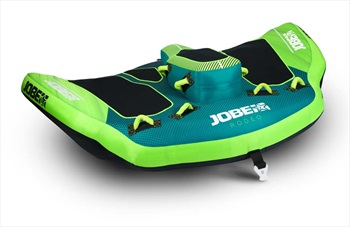 Jobe Rodeo Towable Inflatable Tube, 3 Rider Green Blue 2021