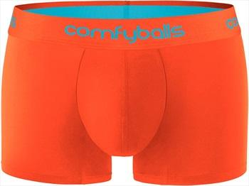 Comfyballs Performance Regular Boxer Brief, M Sunset Orange