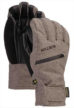 Burton Gore-Tex Ski/Snowboard Under Gloves, M Bog Grey