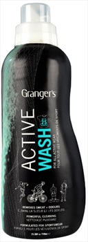 Grangers Active Wash Technical Clothing Cleaner, 750ml