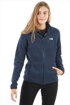 The North Face 100 Glacier Women's Fleece Jacket, UK 8 Urban Navy
