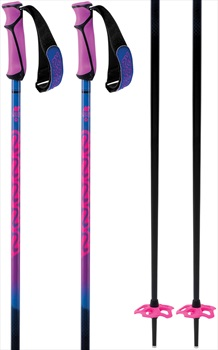 K2 Freeride 16 Womens Ski Poles, 95cm Neon