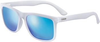 Cebe Hipe Sunglasses, L Matte Translucent Clear/Zone Grey/Blue