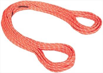 Mammut Alpine Classic Rock Climbing Rope, 60m x 8mm Orange/White