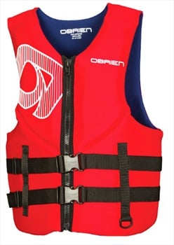 O'Brien Traditional Neo Ski Impact Vest Buoyancy Aid, S Red Blue