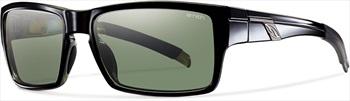 Smith Outlier Grey Green Sunglasses, Shiny Black