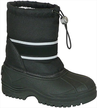 Manbi Child Unisex Arctic Kid's Snow Boots, UK Kids 9.5-10.5 Black