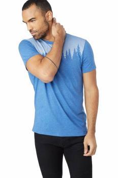 Tentree Juniper Organic Cotton T-Shirt, S Delft Blue