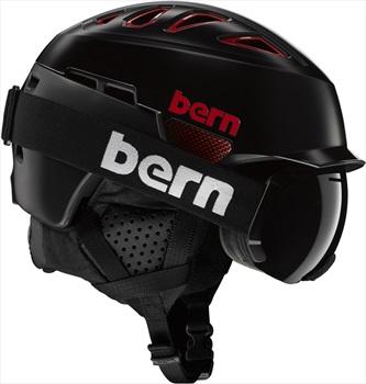 Bern Heist Brim Winter Snowboard Helmet, L Satin Teal