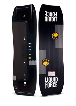 Liquid Force Noodle Wood Core Park Track Wakeboard, 148/142 Black 2020