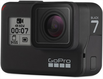 GoPro HERO7 Action Camera Black With Free 16GB Memory Card