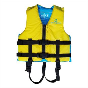 Spinera Waterpark Kayak SUP Nylon Buoyancy Vest, Kids Yellow Blue 2021