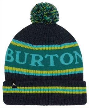 Burton Trope Fold Up Kid's Ski/Snowboard Bobble Hat Dress Blue Heather