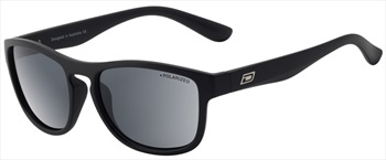 Dirty Dog Venturer Smoke Polarized Sunglasses, Matte Black