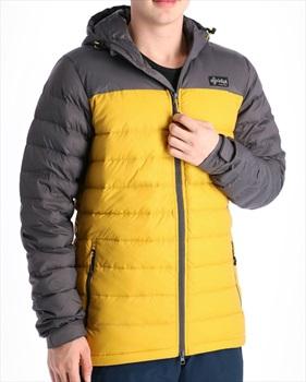 Kilpi Svalbard Insulated Down Jacket, S Yellow