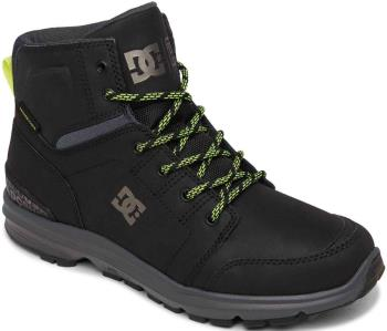 DC Adult Unisex Torstein Men's Winter Boots, Uk 8.5 Black/Acid