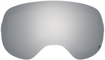 Dragon D3 Snowboard/Ski Goggles Spare Lens, One Size, Mirror Ionized