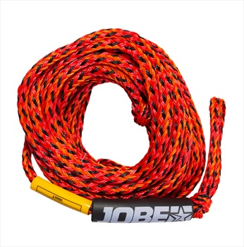 Jobe Heavy Duty Towable Tube Rope, 4 Rider Red 2021